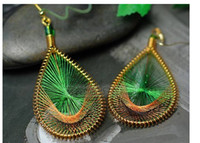 Wholesale China Chandelier Price - Hot sales ! 2014 New 4 Colors Classic Vintage Antique Earrings Fashion Drop Eearrings Statement Jewelry Low Price