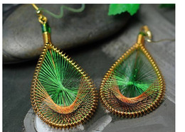 Wholesale Low Price Dangle Earrings - Hot sales ! 2014 New 4 Colors Classic Vintage Antique Earrings Fashion Drop Eearrings Statement Jewelry Low Price