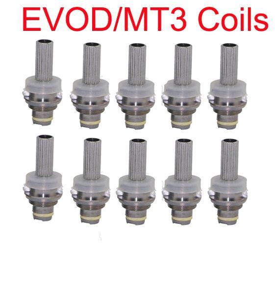 No Cotton Wick MT3 nucleo sigaretta elettronica sostituzione atomizzatore nucleo testa staccabile ricostruibile MT3 Clearomizer bobina per eVod BCC serbatoio