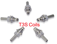 Wholesale E Cig T3s - T3S replacement core , Replacement Coils Head for T3S Clearomizer T3S replacement , Replacement Coils Head for T3S H2 MT3 Clearomizer e cig