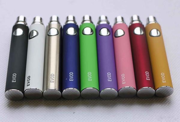 Batterie de haute qualité Kanger BCC evod série Ego O Batterie 650/900/1100 mAh pour cigarette électronique pour e-Cig eGo-T 510-T MT3 ce4 ce4 + ce5 GSh2