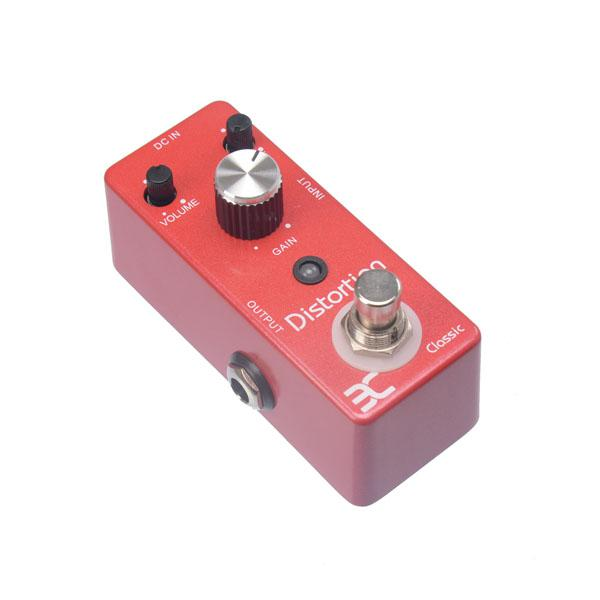 EX Micro Classic (DS-1) British High Gain Distortion Guitar Effect Pedal with Powerful Mid Frequency Compact Crunchbox Cruncher MU0130