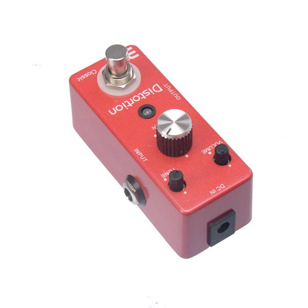 EX Micro Classic DS-1 British High Gain Distortion Guitar Effect Pedal with Powerful Mid Frequency Compact Crunchbox Cruncher MU0130