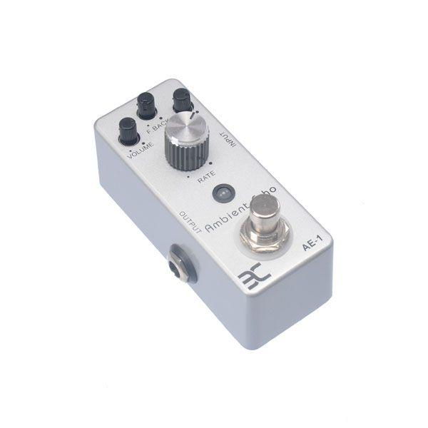EX Micro Pedal AE-1 Ambient Echo Metal case mini pedal Compact Pedal MU0134