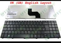 Wholesale Acer 5732 - Genuine New Laptop keyboard for Acer Aspire 5241 5332 5334 5516 5517 5532 5534 5541 5541G 5732 5732Z 5732ZG 5734 5734Z UK GB - NSK-GFB0U