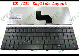 Wholesale Acer 5732 - Genuine New Laptop keyboard for Acer Aspire 5241 5332 5334 5516 5517 5532 5534 5541 5541G 5732 5732Z 5732ZG 5734 5734Z UK GB - NSK-GFB0U