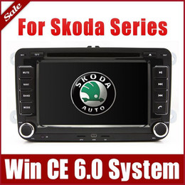 "Wholesale Skoda Fabia Gps - 7"" 2-Din Car DVD Player for Skoda Octavia Fabia Superb with GPS Navigation Bluetooth Radio TV USB AUX Map 3G Auto Stereo Audio Video Sat Nav"