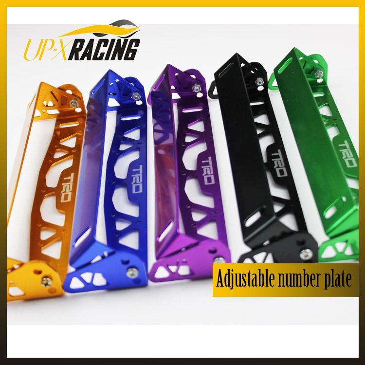 See larger image  sc 1 st  DHgate.com & 2018 Car Universal Aluminum Trd Style Adjustable Rotating Number ...
