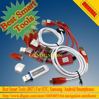 Wholesale Recording Cables - BST dongle for HTC SAMSUNG unlock screen S3 S5 9300 9500 lock repair IMEI read NVM EFS ROOT record date Best Smart tool dongle