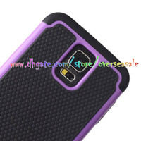 Wholesale Duty Cover S3 - For Samsung Galaxy S6 EDGE S3 S4 i9500 S5 i9600 Mini Note4 Note3 Football skin Shockproof Heavy Hybrid Armour Duty cover case 5pcs 10pcs