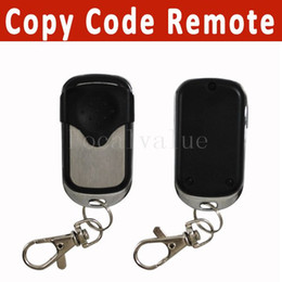 Wholesale Garage Remote Control Free Shipping - 433mhz Universal Copy Remote Control Duplicator 4 Channel Cloning Gate Garage Door Opener Controller Free Shipping