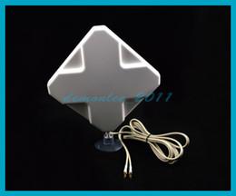 Wholesale E589 4g - Free shipping 1pc 4G LTE Antenna 35dB TS9 4Ghz Booster Signal Amplifier for HUAWEI E589 E392 E368 E586E E398 E587 Router