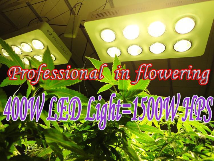 Growlight 400w Cob Led Grow Light 1500w Hps Professional