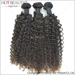 Wholesale 1kg Hair Extensions - 100% Malaysian Virgin Curly Hair Weave,1KG lot Malaysian Deep Wave Hair Extensions color 1b# Hot beauty hair