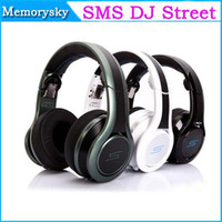 Wholesale Dj Pro Sms - SMS Audio Street Limited Edition Pauly D Pro DJ Street by 50 Cent Performance DJ Headphones Wired Headphones On-Ear DJ Headsets 002141