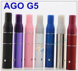 Ago G5 Pink Canada - AGO G5 Herbal Vapor Atomizer for dry herb vaporizer pen vapor cigarettes ago G5 Pen Style Ecig for Cut tobcco wax dry herb