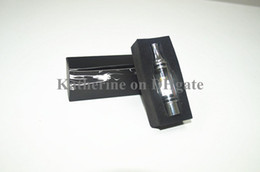 Wholesale Ego T Metal Drip Tip - Glass Atomizer Dry Herb Atomizer Wax Vapor Replaceable Core with Metal Drip Tip Straight Tube Glass for e Cigarette E cig ego t Batteries