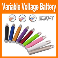 Wholesale Ecig Clearomizer Ce5 - EGO-T twist Variable Voltage Colorful ecig E Cigarette 650mAh 900mAh 1100mAh Battery for CE4 CE5 CE6 Clearomizer e cig new arrival(0204046)
