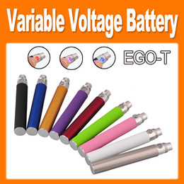 ego t variable Coupons - EGO-T twist Variable Voltage Colorful ecig E Cigarette 650mAh 900mAh 1100mAh Battery for CE4 CE5 CE6 Clearomizer e cig new arrival(0204046)