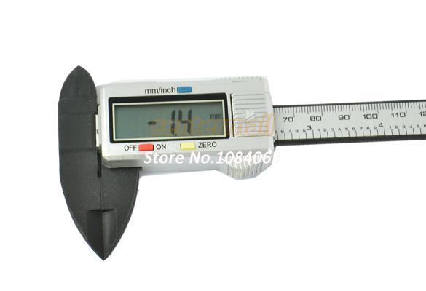 "best selling HOTSale!!!2pcs lot 2014 New 150 mm 6"" Digital Measurement Tool CALIPER VERNIER GAUGE MICROMETER 10886 A7"