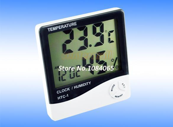 top popular 12Pcs Lot New LCD Digital Thermometer Temperature Humidity Meter Hygrometer Dropshipping Wholesale 193 free shipping for buyer 2021