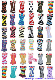 Wholesale Infant Cartoon Animal Socks - hot sale retail infant baby chevron zebra owl leg warmers baby boys football skull leopard cartoon leg warmers infant socks 2pcs=1pair Melee