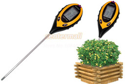 4in1 Plant Soil PH Moisture Light Soil Meter Thermometer Temperature Tester TK0352