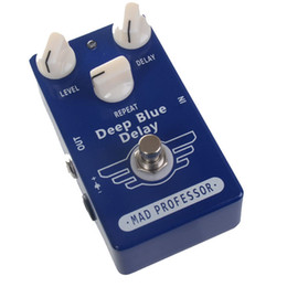 Wholesale Effect Delay - Free Shipping Guitar Effect Pedal Delay And True Bypass Deep Blue Delay MU0368