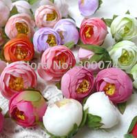 Wholesale Wedding Favour Party Flower - DIY Craft Supplies, Artificial Silk Camellia Flower Heads , wedding favours, events or christmas party supplies,100pcs lot