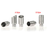 Wholesale Ee2 Ego Stainless - 2014 NEWEST Tube Style Stainless Steel Wide Bore Drip Tip EGO 510 Atomizer Drip Tips for CE4 CE5 DCT EE2 Electronic Cigarette Mouthpieces