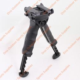 Wholesale T Pod Foregrip Bipod - Drss T-POD-G2 Rotating Tactical Foregrip & Bipod Black(1122)