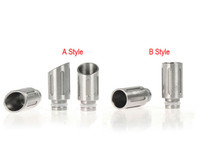 EGO Electronic Cigarette Drip Dicas Stainless Steel Wide Bore Drip Tip Embocaduras EGO 510 Atomizer para CE4 CE5 DCT EE2 Vivi Nova Clearomizer