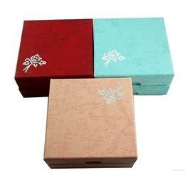 anel de fita vermelha atacado Desconto Upscale jóias por atacado caixa de jóias caixa de embalagem de impressão caixa de pulseira caixa de jóias pulseira
