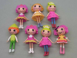 Wholesale Wholesale Lalaloopsy Mini Dolls - Lalaloopsy Mini doll mini version of the super cute Little PVC Doll Figure Toy girls gift 7CM Mix 16styles set