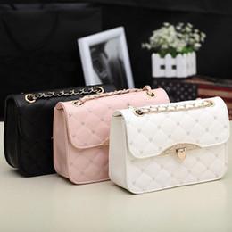 Wholesale Korean Leather Hobo Bags - S5Q Korean Lady Women Hobo PU Leather Messenger Handbag Shoulder Bag Totes Purse AAACZW