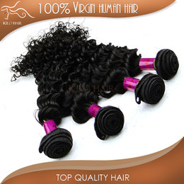 Wholesale Brazilian Hair Salon - Brazilian Curly Hair Extension 100 Human Hair Weaving Double Weft Remy Hair Deep Wave For Your Nice Hair Salon Factory Wholesale Price