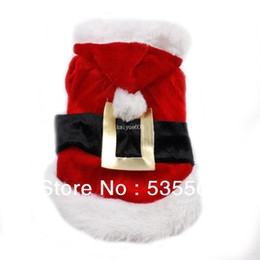 Wholesale Chihuahua Winter Clothes - Wholesale - New Dog Clothes Pet Clothing Santa Suit Christmas Cloth Warm in Winter Small Mini Medium Dogs and Cats Chihuahua Pitbull Poodle