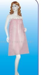 Wholesale Disposable Beauty - Big promotion Non-woven disposable Beauty clothing 340g package 10pcs in one package