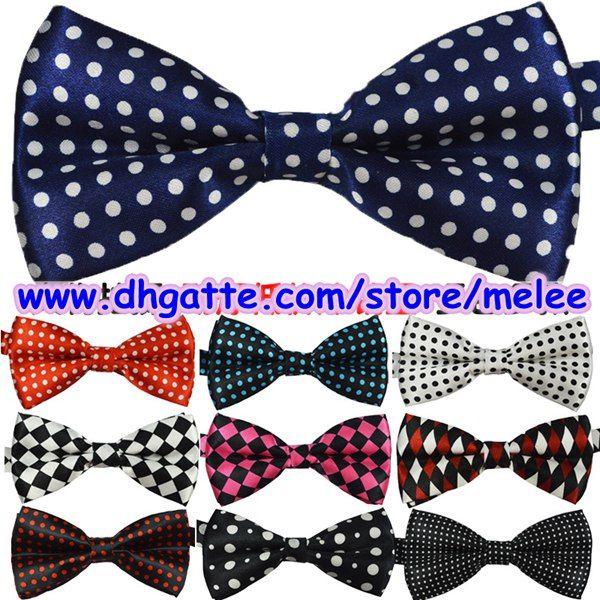 top popular Free Hot Sale New Mens Bowties men's ties men's bow ties men bow tie pure color bowtie Star Check Polka Dot Stripes 2021