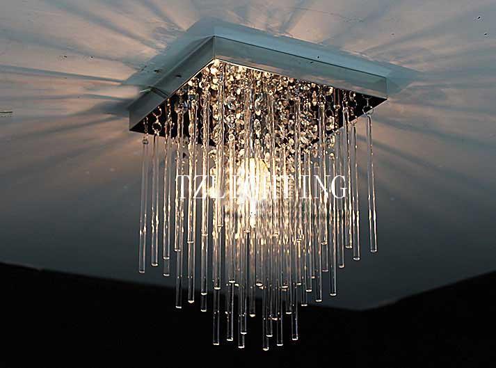 Kristall Led Kronleuchter ~ Großhandel k kristall pendent lampe led klare decke kronleuchter