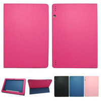 "Wholesale Lenovo Ideatab 3g - S5Q Leather Case Stand Cover For Lenovo IdeaTab S6000 10.1"" WIFI 3G Tablet PC AAADAK"