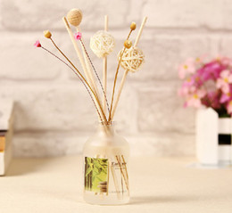 Wholesale Scented Fragrance Diffuser - Cheap Dia 5MM*20CM Natural Scents Aroma Diffuser Reed Diffuser Stick Fragrance Diffuser 200pcs lot ZH0422