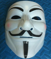 200pcs lot Party Halloween mask V for Vendetta Guy Fawkes Pa...