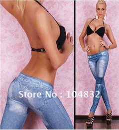Wholesale Bootcut Jeggings - East Knitting A66 New Arrive Jeans Look s Fashion s For Women.Tights Jeggings Free Shipping