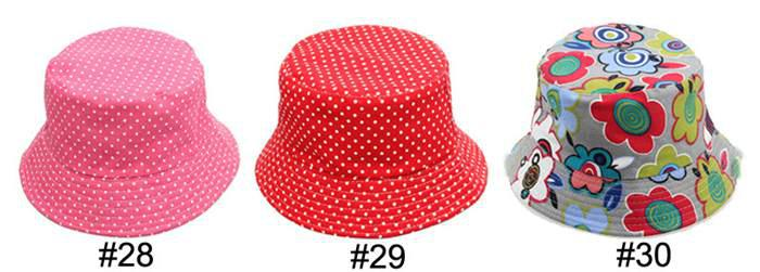 チャイルド帽子バケツの帽子子供ビーニーハットキャップ赤ちゃんの日焼け止めキッズトプリー男の子と女の子かわいいプリント盆地キャップファッションカジュアルキャンバス帽子