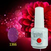 Wholesale Nail Varnish Sets - 170Pcs lot Long last soak off led & uv Gelish Gel Nai polish Nail Art Gel Lacquer Varnish for Nail Set