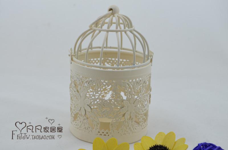 Wedding lantern Iron Candle Holder round shape candle holder wedding gift house decoration