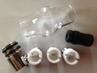 juego de bobinas para globo al por mayor-¡El precio más bajo! Cabezal de bobina de cerámica para el Vaporizador de cera Glass Globe Depósito de CRISTAL ACEITE PARA CUBIERTA DE ACEITE PARA CUBIERTA DE VAPOR ATOMIZADOR DE VAPOR PARA Cera de hierba seca DHL