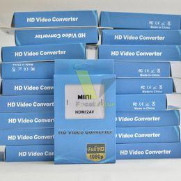 $enCountryForm.capitalKeyWord Canada - Mini HD Video Converter Box HDMI to AV CVBS L R Video Adapter Adapters 1080P HDMI2AV Support NTSC And PAL Output