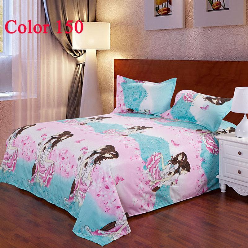 Großhandel Rosa Bettwäsche Mit Cartoon Menschen Bett Decke Baumwolle ...